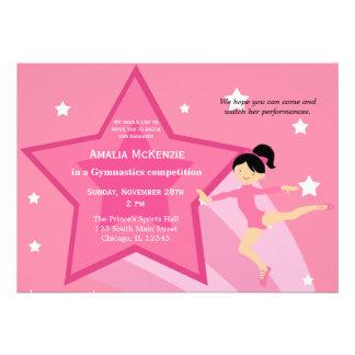 Gymnastics Competition Custom Announcements
