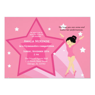 Gymnastics Competition Invitation