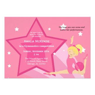 Gymnastics Competition Announcement