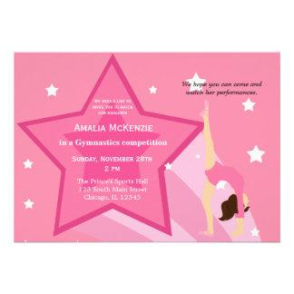 Gymnastics Competition Announcements