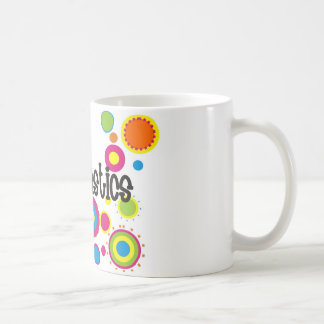 Gymnastics Cool Polka Dots Coffee Mug