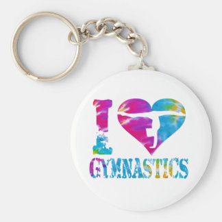 Gymnastics Dance Cheer Keychain