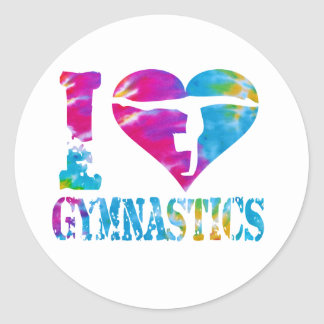 Gymnastics Dance Cheer Stickers Love Heart