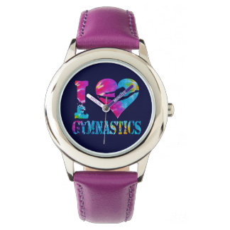 Gymnastics Dance Cheer Watch Glitter Custom