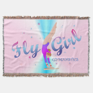 Gymnastics - Fly Girl Blanket