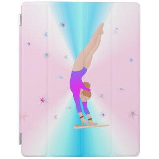 Gymnastics - Fly Girl iPad case iPad Cover
