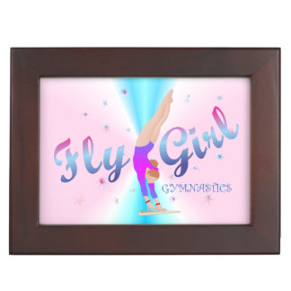 Gymnastics - Fly Girl Keepsake Box