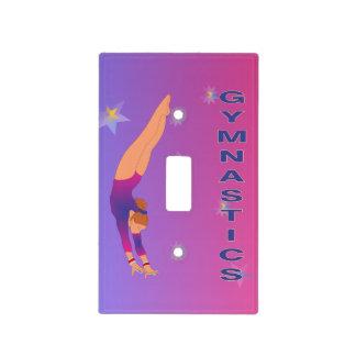 Gymnastics - Fly Girl Switchplate