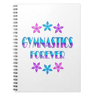 Gymnastics Forever Spiral Notebook
