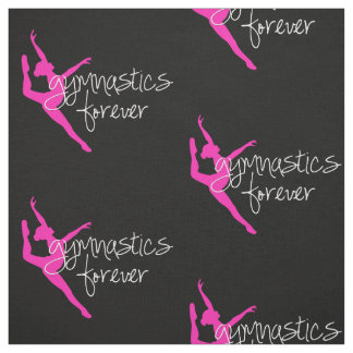 Gymnastics Forever with Hot Pink Gymnast Fabric