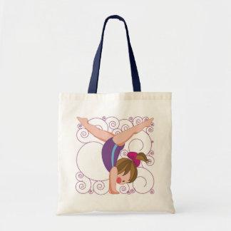 Gymnastics Gift Budget Tote Bag