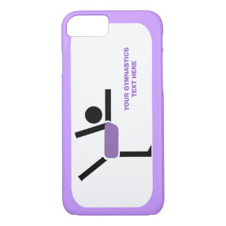 Gymnastics gifts, gymnastics performer custom iPhone 7 case