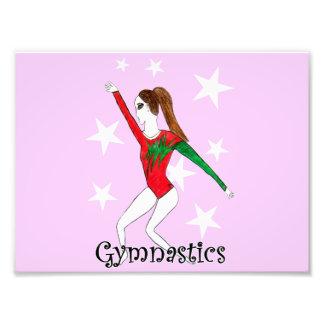 Gymnastics girl art photo