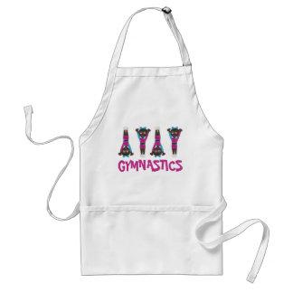 Gymnastics Girl Gymnast Acrobatics Tumbling Dance Standard Apron