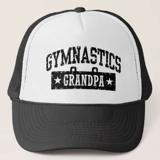 Gymnastics Grandpa Trucker Hat