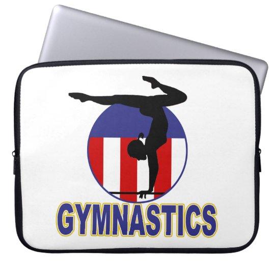 Gymnastics Hopeful Laptop Sleeve