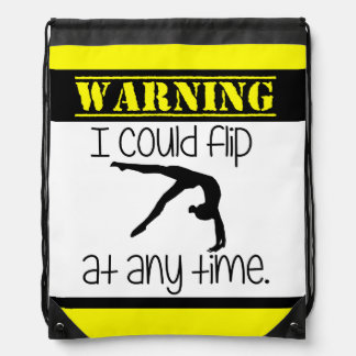 Gymnastics I Could Flip At Anytime Backpack