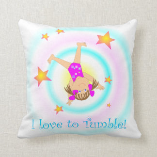 Gymnastics - I Love to Tumble Pillow