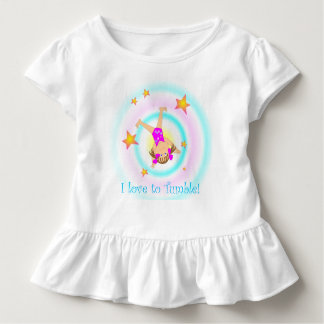 Gymnastics - I love to tumble! Toddler T-shirt
