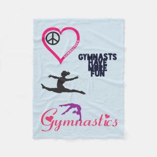 Gymnastics is in my Heart Blanket