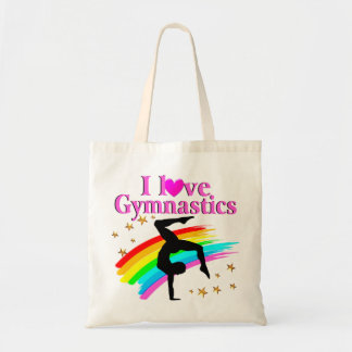 GYMNASTICS IS MY LIFE TOTE BAG