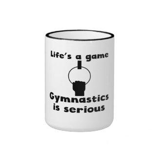 Gymnastics Is Serious Coffee Mugs