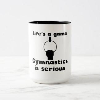 Gymnastics Is Serious Mugs