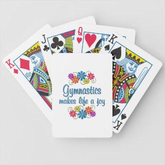 Gymnastics Joy Bicycle Playing Cards