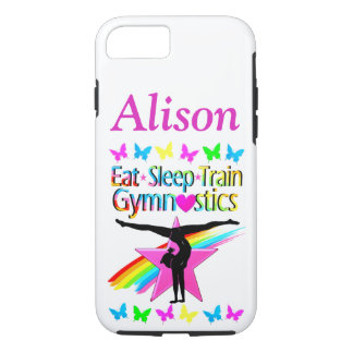 GYMNASTICS LIFE PERSONALIZED IPHONE CASE