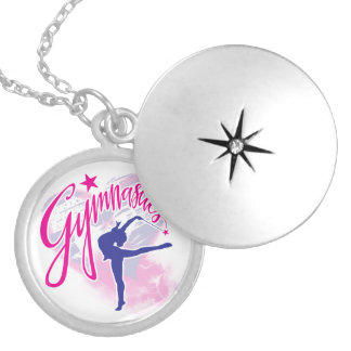 Gymnastics Locket Necklace