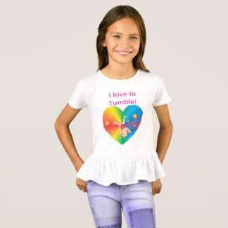 Gymnastics - Love to Tumble by Bella T-Shirt