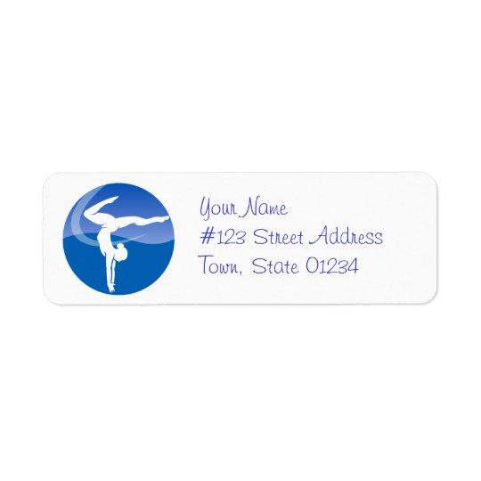 Gymnastics Mailing Labels