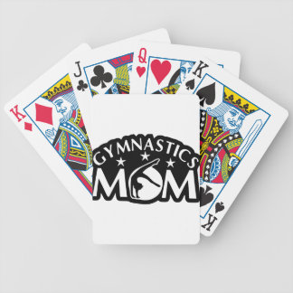 Gymnastics_Mom Bicycle Playing Cards