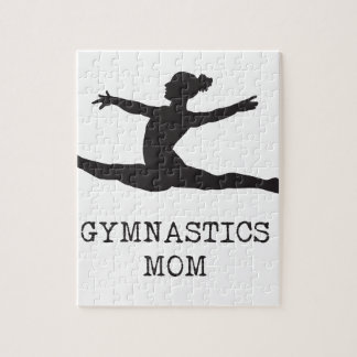 Gymnastics Mom Jigsaw Puzzle