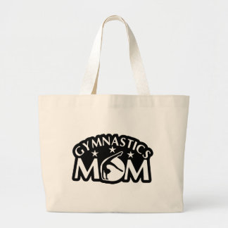 Gymnastics_Mom Large Tote Bag