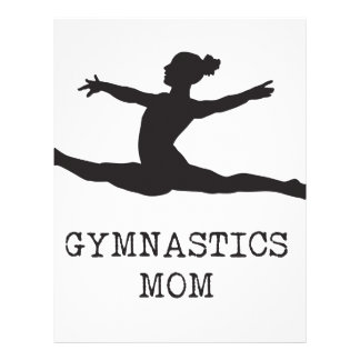 Gymnastics Mom Letterhead