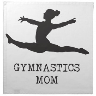 Gymnastics Mom Napkin