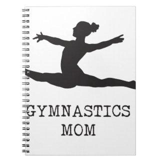 Gymnastics Mom Notebook