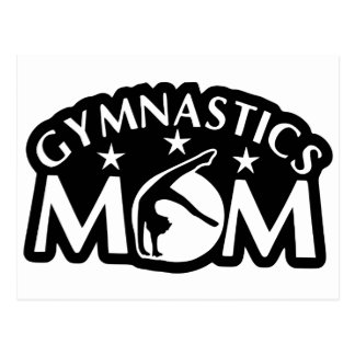 Gymnastics_Mom Postcard