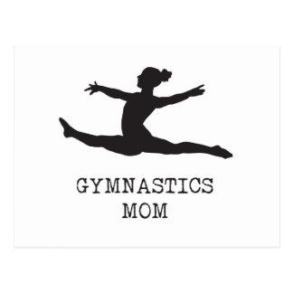 Gymnastics Mom Postcard