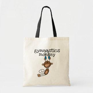 Gymnastics Monkey Tshirts and Gifts Tote Bag