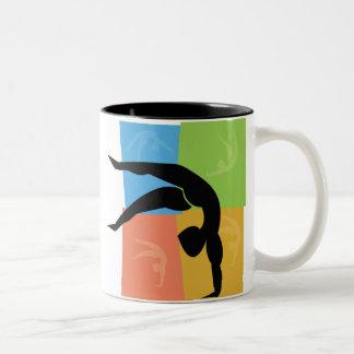 Gymnastics mug