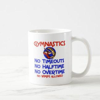 Gymnastics No Wimps Basic White Mug