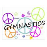 Gymnastics Peace Signs