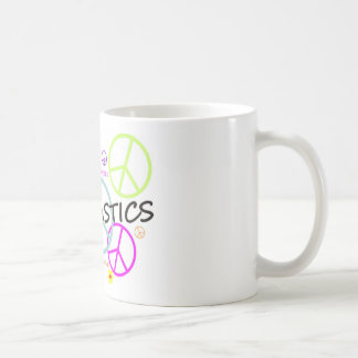 Gymnastics Peace Signs Coffee Mug