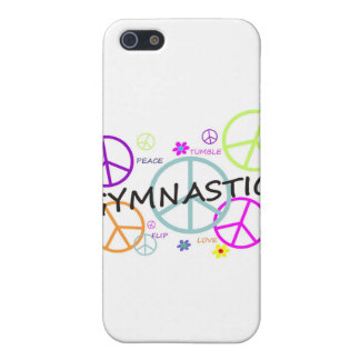 Gymnastics Peace Signs iPhone 5/5S Covers