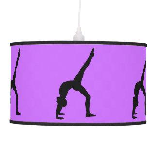Gymnastics pendant lamp