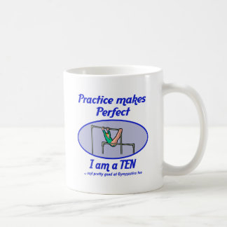 Gymnastics Perfect 10 Classic White Coffee Mug