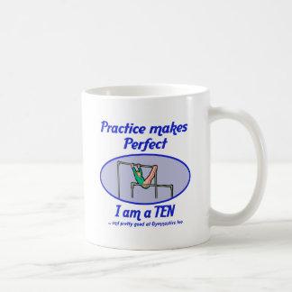 Gymnastics Perfect 10 Mugs