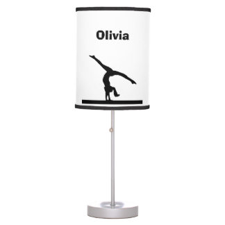 """Gymnastics"" Personalized Lamp"